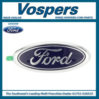 Genuine Ford Fiesta, Fusion, Focus, Eco Sport, Galaxy & S-Max Ford Oval Badge