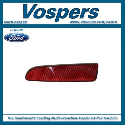 Genuine Ford Fiesta MK6 2001-2005 Rear Bumper Reflector R/H