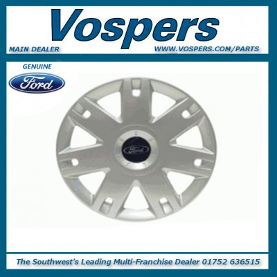 "Genuine Ford Fiesta & Fusion 15"" Wheel Trim Hub Cap x1"