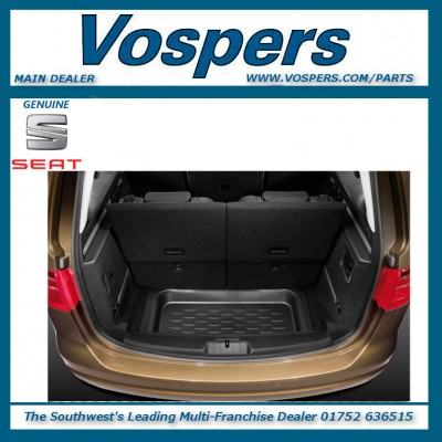 Genuine Seat Alhambra 7 Seater Boot Load Liner