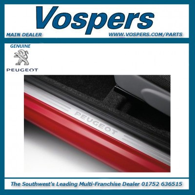 Genuine Peugeot 108 Front Sill Guards
