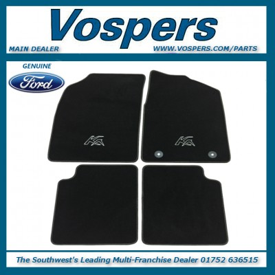 Genuine Ford KA MK2 (Late) Front & Rear Tailored Carpet Mats