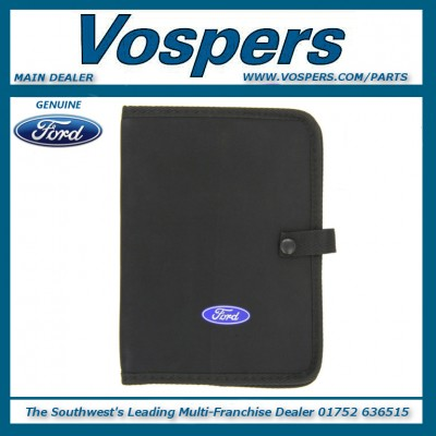 Genuine Ford Owners Handbook (Empty Wallet) All Ford Models