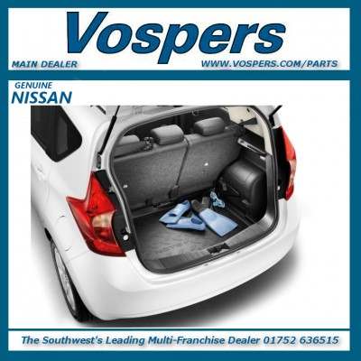Genuine Nissan Note E12 Boot Liner / Protection Mat