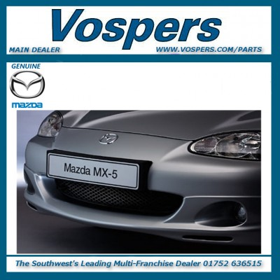 Genuine Mazda MX5 Number Plate Holder