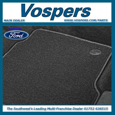 Genuine Ford Galaxy & S-Max Front Carpet Mats