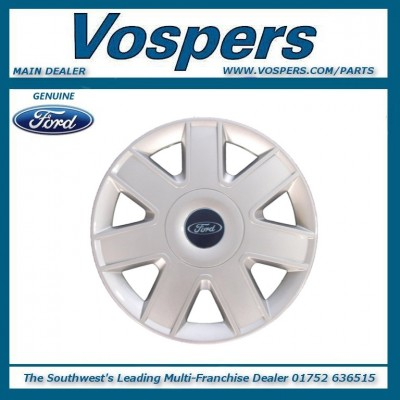 "Genuine Ford KA 13"" Wheel Trim Hub Cap x1"