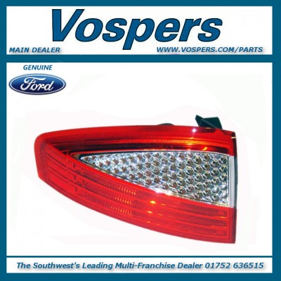 Genuine Ford Mondeo MK4 5-Door Saloon/Hatch Left Hand Rear Outer Lamp / Light 2007 - 2010