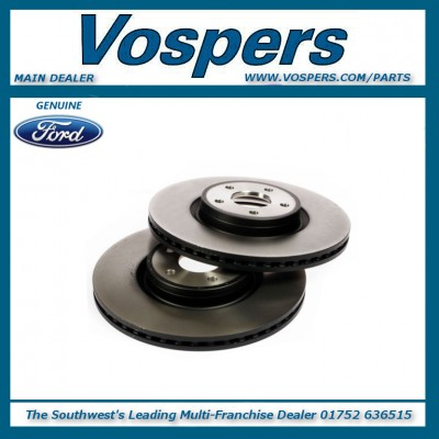 Genuine Ford Focus ST 320mm Vented Front Brake Discs