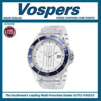 Genuine Official Fiat Brand Watch In Blue