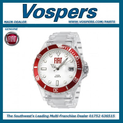Genuine Official Fiat Brand Watch In Red