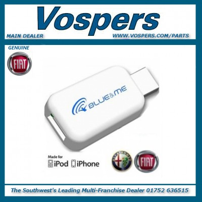 Genuine Fiat & Alfa Romeo Blue & Me Adaptor For iPhone & iPod