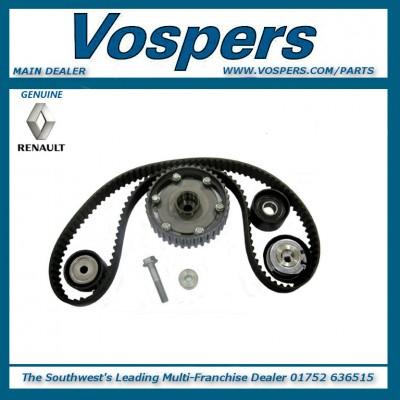 Genuine Renault Clio Sport 172 & 182 2.0 16V Dephaser Pulley & Cambelt Kit