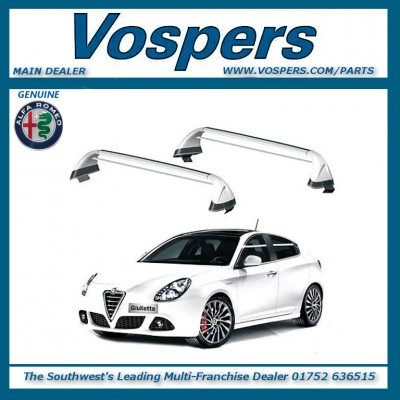 Genuine Alfa Romeo Giulietta Roof Bars / Roof Rack