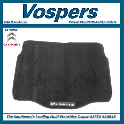 Genuine Citroen C4 Cactus Carpet Boot Liner / Protection Mat