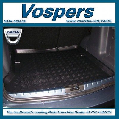Genuine Dacia Duster 2WD Boot Load Liner Protection Tray Mat