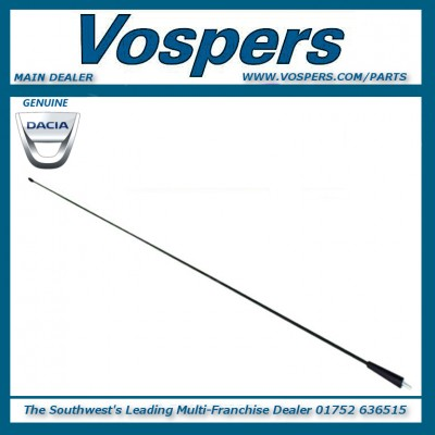 Genuine Dacia Duster & Logan Sandero 700mm Aerial Mast Rod
