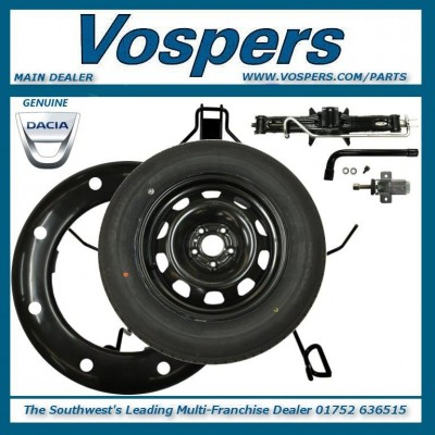 "Genuine Dacia Duster Full Size 16"" Steel Spare Wheel Kit & Tyre"
