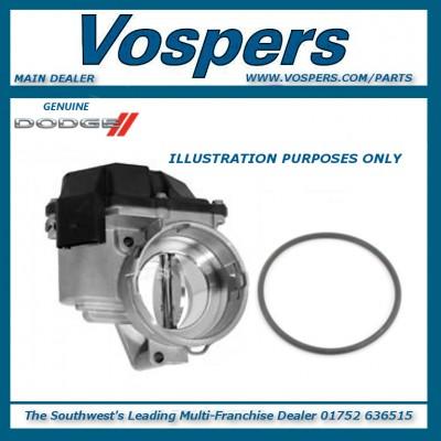 Genuine Dodge Journey SXT CRD 2.0l Diesel MK1 Throttle Body & Seal