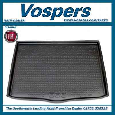 Genuine Fiat 500X Boot Liner Tray Protection