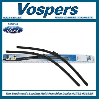 Genuine Ford C-MAX Inc Grand C-MAX 2010 Onwards Front Flat Wiper Blades