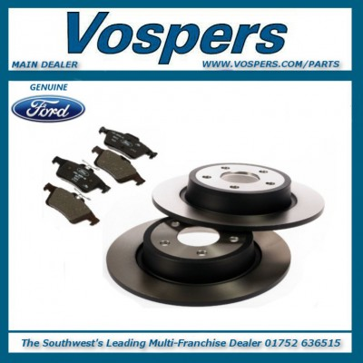Genuine Ford C-MAX / Grand C-MAX Front Brake Discs & Pads