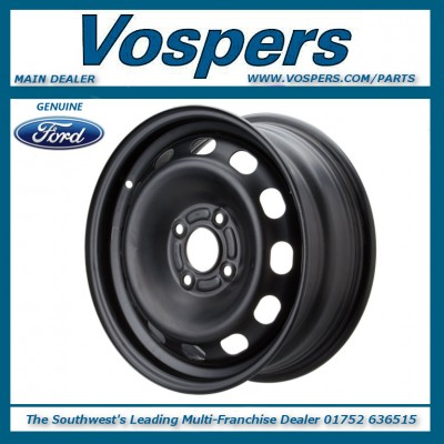 "Genuine Ford Fiesta MK8 15"" Steel Wheel x1 6J x 15"