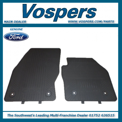 Genuine Ford C-MAX Front & Rear Rubber Mats