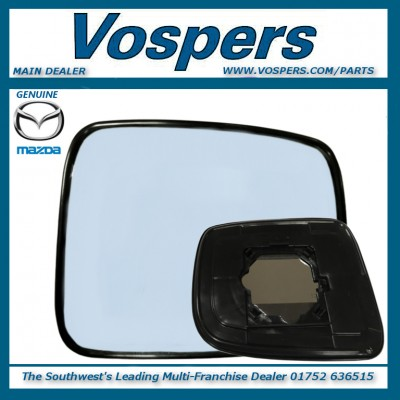 Genuine Mazda Bongo & Ford Freda O/S RH Mirror Glass With Backing Plate