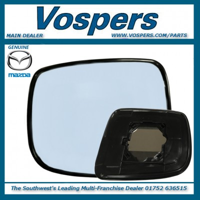 Genuine Mazda Bongo & Ford Freda N/S LH Mirror Glass With Backing Plate