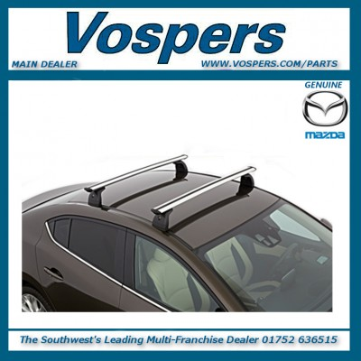 Genuine Mazda 3 5 Door Hatchback Roof Rack Cross Bars