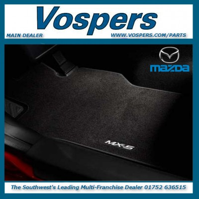 Genuine Mazda MX5 Standard Front Carpet Mats