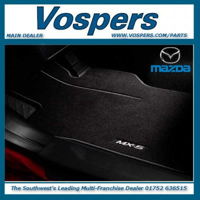 Genuine Mazda MX5 Luxury Front Carpet Mats