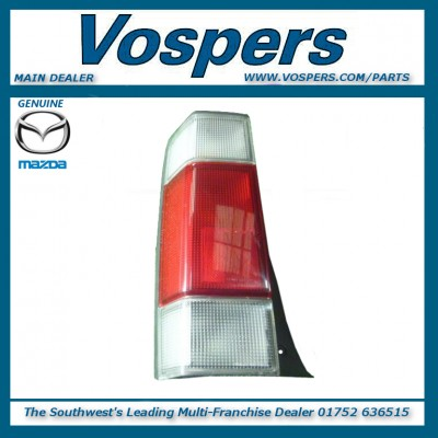 Genuine Mazda Bongo & Ford Freda Drivers Side Rear Light Cluster (Clear Top)