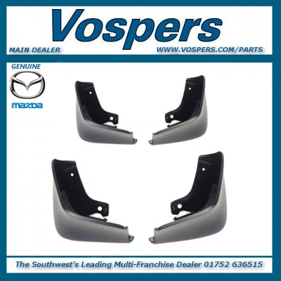 Genuine Mazda 3 Front & Rear Mud Flaps / Guards