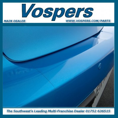 Genuine Mazda 3 Rear Bumper Clear Protective Foil