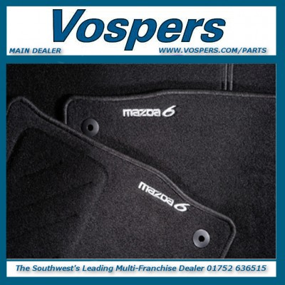Genuine Mazda 6 Front & Rear Tailored Carpet Mats