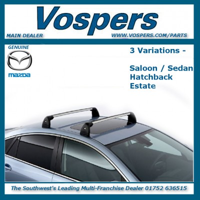 Genuine Mazda 6 Roof Bars / Luggage Carrier Rack