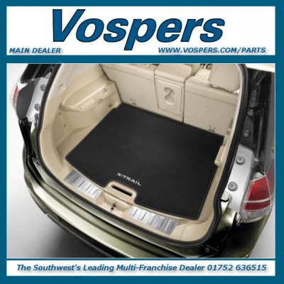 Genuine Nissan X-Trail T32 Full Trunk Textile Boot Liner