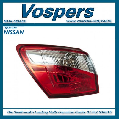 Genuine Nissan Qashqai J10 Passenger Side Rear Light Lamp Assembly