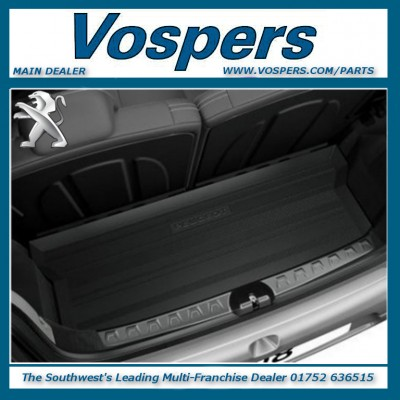 Genuine Peugeot 108 Boot Liner Protection Tray