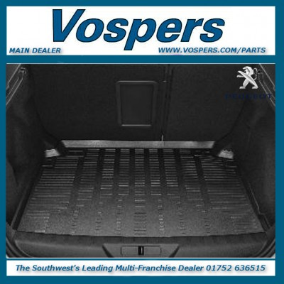 Genuine Peugeot 308 5 Door Saloon Soft Heat Formed Boot Liner / Luggage Tray
