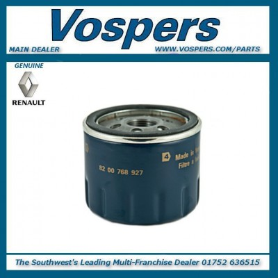 Genuine Renault Traffic MK 2 Oil filter