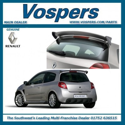 Genuine Renault Clio Sport 197 & 200RS Rear Spoiler