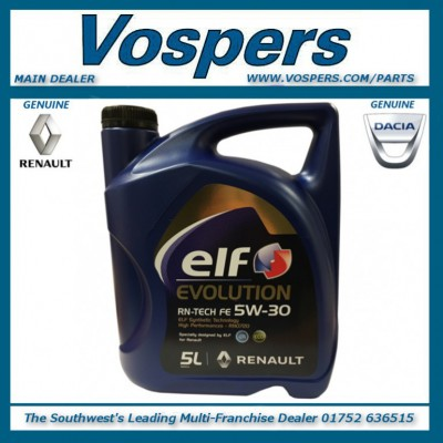 Elf Evolution Full-Tech FE 5W30 DPF Engine Oil 5 Litres