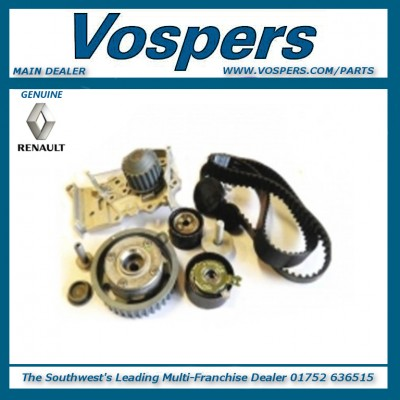 Genuine Clio,Laguna,Megane,Scenic 1.6 16V Dephaser Pulley,Cambelt Kit, Waterpump