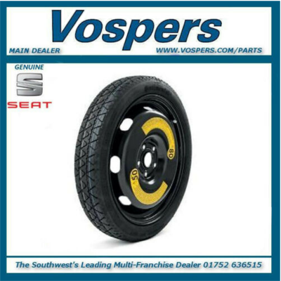 Genuine Seat Ateca 4WD Spare Wheel Kit Complete! With Seat Sound