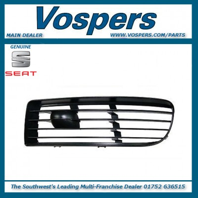 Genuine Seat Alhambra N/S L/H Lower Bumper Grille (without fog lamps)