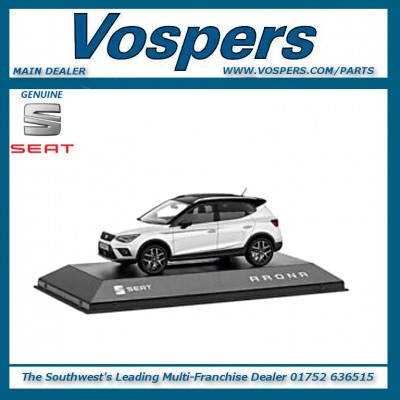 Genuine Seat Arona FR 1:43 Scale Model Car