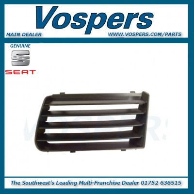 Genuine Seat Alhambra Front Left Hand / Near Side Upper Bumper Grille